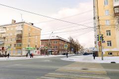 Вид на Типографию со стороны ул. Пархоменко