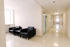 Мягкая зона ожидания  для посетителей  3 этаж