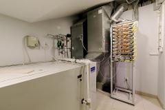 Система приточно-вытяжной вентиляции здания
